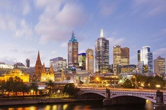 Australian Residential property investment, Melbourne Evening View