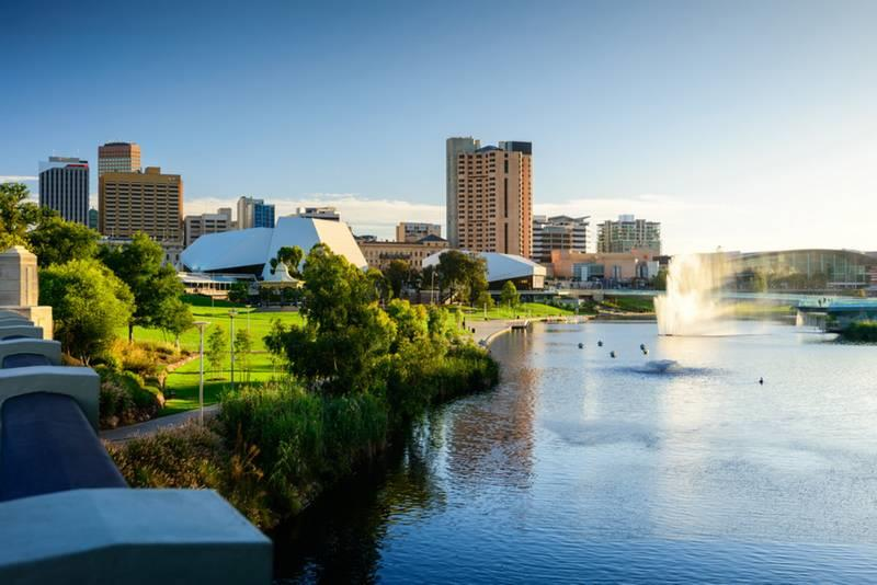 Property Investment Australia , Adelaide Evening View