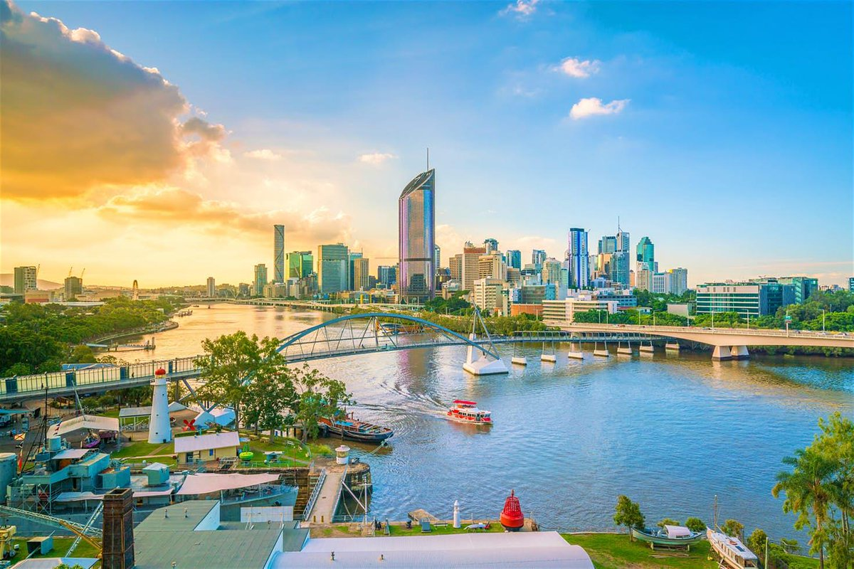 Property Investment Australia , Brisbane Evening View