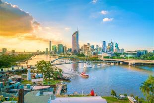 Property Investment Australia , Brisbane Evening View