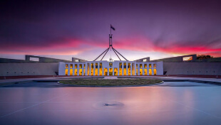 Property Investment Australia , Canberra Evening View
